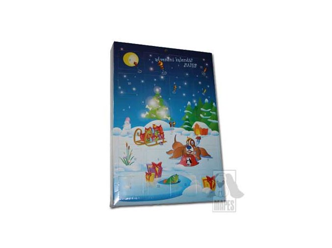 Adventní kalendář Mapes 280 g
