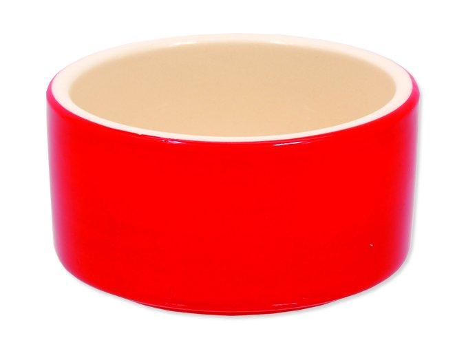 Miska SMALL ANIMALS keramická pro králíky červená 10 cm