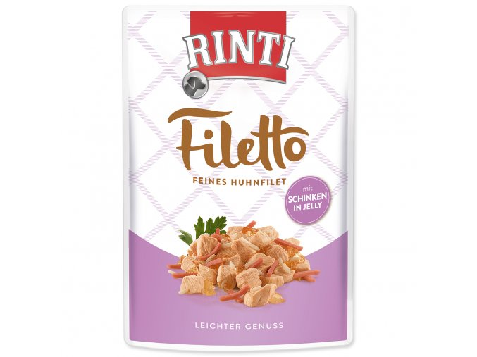 Kapsička RINTI Filetto kuře + šunka v želé 100 g