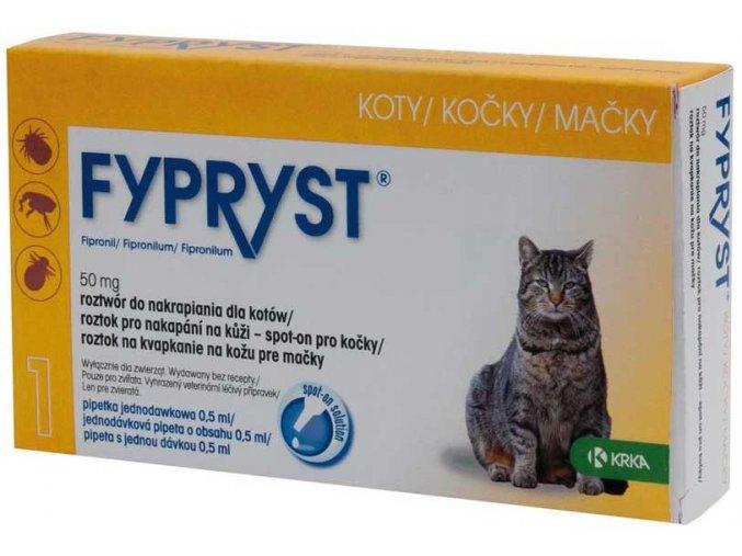 Fypryst spot on a.u.v. kočka sol 1x0,5 ml