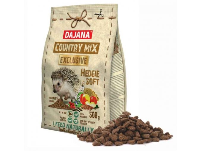 COUNTRY MIX EXCLUSIVE hedgie soft ježek 500 g
