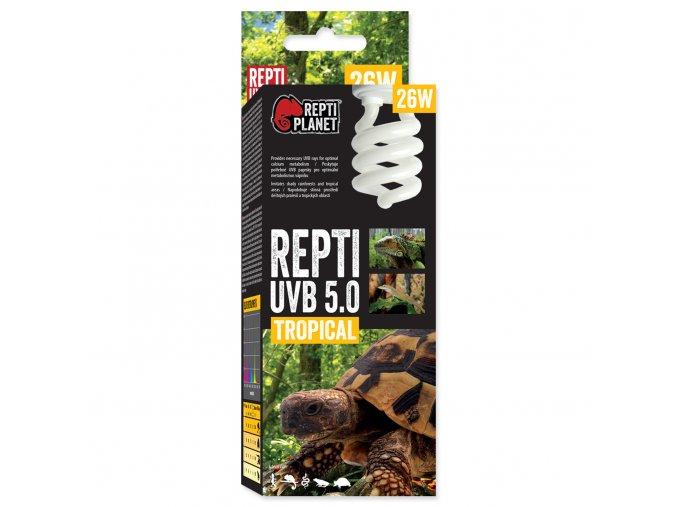 Žárovka REPTI PLANET Repti UVB 5.0 26W