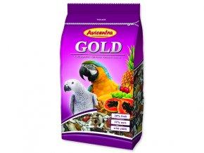 AVICENTRA Gold pro velké papoušky 850 g