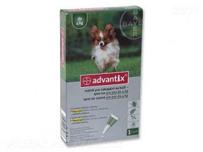 BAYER Advantix Spot-On pro psy do 4 kg (0,4ml)