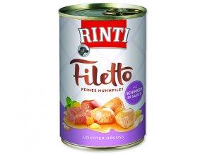 Rinti Konzerva Filetto kuře + šunka ve šťávě 420g