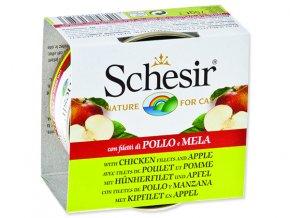 Schesir konzerva Cat Fruit kuřecí + jablko 75g