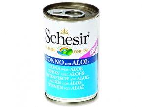 Schesir konzerva Cat Kitten tuňák + aloe 140g