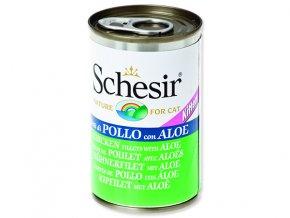 Schesir konzerva Cat Kitten kuřecí + aloe 140g