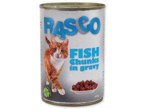 RASCO rybí kousky ve šťávě 400g