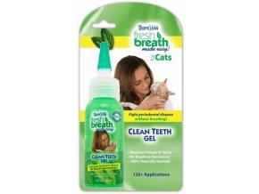Tropiclean Cleen Teeth Gel - gel pro kočky - 59 ml