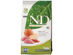 N&D Grain Free Cat Adult Boar & Apple (Hm 1,5 kg)