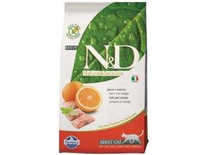 N&D Grain Free Cat Adult Fish & Orange (Hm 1,5 kg)
