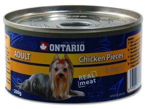 ONTARIO konzerva chicken pieces + gizzard 200g
