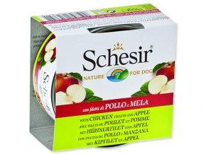 SCHESIR konzerva Fruit kuřecí + jablko 150g