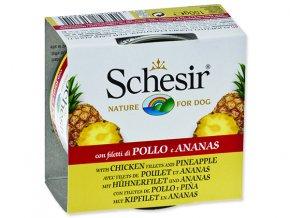 SCHESIR konzerva Fruit kuřecí + ananas 150g