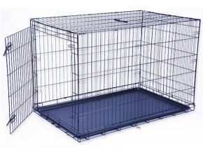 Klec DOG FANTASY skládací  černá XXL - 1 dveře