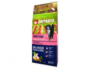 ONTARIO Adult Large Chicken & Potatoes & Herbs 12kg