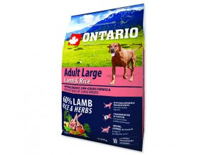 ONTARIO Adult Large Lamb & Rice & Turkey 2,25kg