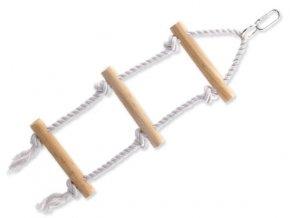 Žebřík BIRD JEWEL provazový + dřevěné příčky 40 cm