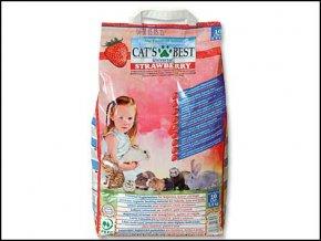 Kočkolit Cats Best Universal s jahodovou vůní 10 l