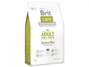 BRIT Care Adult Small Breed Lamb & Rice (Hm 7,5 kg)