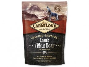 CARNILOVE Lamb & Wild Boar for Adult 1,5 kg
