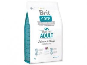 BRIT Care Grain-free Adult Salmon & Potato (Hm 3,0 kg)
