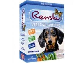 Renske Fresh Menu Dog 395g - Adult Fish