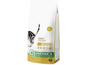 Nature's Protection Cat Dry Kitten 7 kg