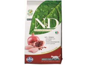 N&D Grain Free Cat Adult Chicken & Pomegranate (Hm 1,5 kg)