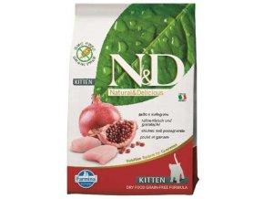N&D Grain Free Cat Kitten Chicken & Pomegranate (Hm 10 kg)