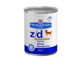 Hill's Canine Z/D konzerva Ultra Allergen Free 370 g