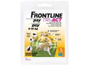 Frontline TRI-ACT spot on dog S 1x1ml