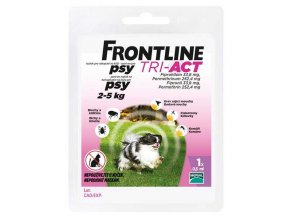 Frontline TRI-ACT spot on dog XS 1x0,5ml