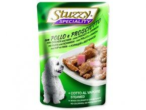 Kapsička STUZZY Dog Speciality kuře + šunka 100g