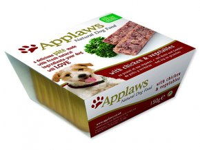 Paštika APPLAWS Dog Pate with Chicken & Vegetables 150g