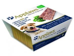 Paštika APPLAWS Dog Pate with Salmon & Vegetables 150g