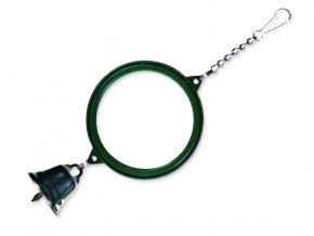 Hračka TRIXIE zrcátko se zvonečkem 5,5 cm