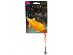 Hračka MAGIC CAT myš neonová 8,75 cm