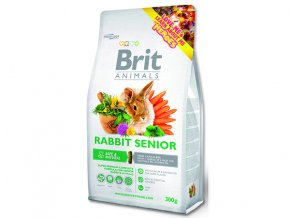 BRIT Animals RABBIT SENIOR Complete 300 G