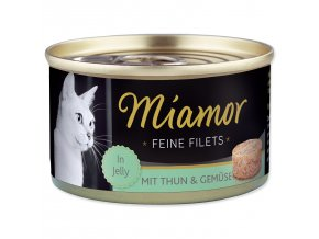 MIAMOR Feine Filets tuňák + zelenina v želé 100g