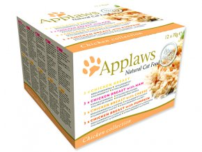Applaws Cat Chicken Selection multipack 840g