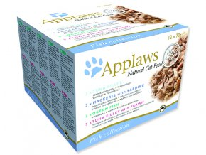 Applaws Cat Fish Selection multipack 840g