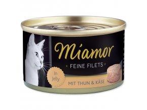 MIAMOR Feine Filets tuňák + sýr v želé 100g