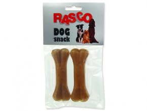 Kosti RASCO Dog buvolí 10 cm 2ks