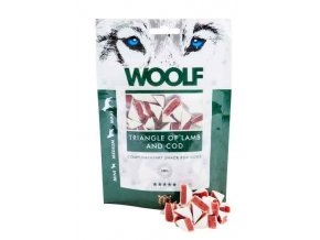 WOOLF Triangl of Lamb and Cod 100g