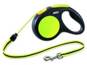 Vodítko FLEXI Classic New Neon lanko M - 5 m