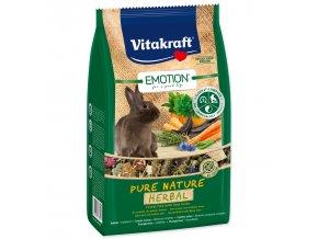 VITAKRAFT Emotion herbal králík 600g