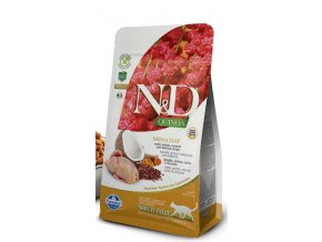 N&D Grain Free Cat Adult Quinoa Skin&Coat Quail & Coconut