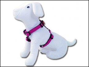 Postroj DOG FANTASY Classic růžový 65-100 cm 454-13235